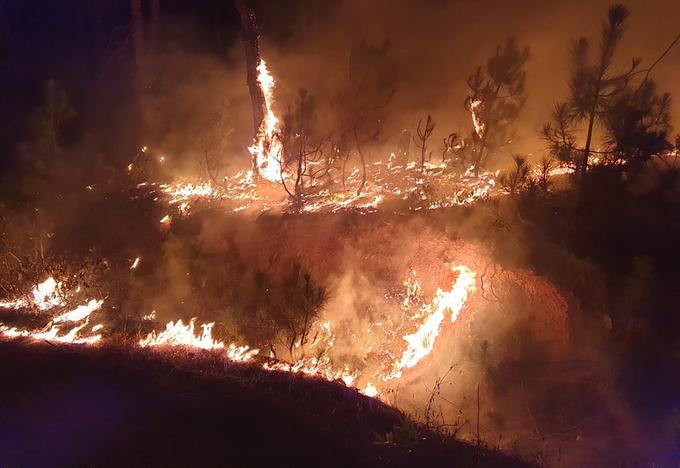 Nghìn người chiến đấu với biển lửa cứu rừng