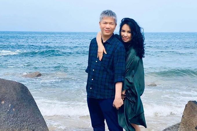 Thanh Lam và bạn trai bác sĩ.