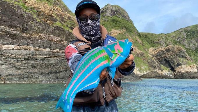 Con cá có màu sắc như trong thế giới Avatar