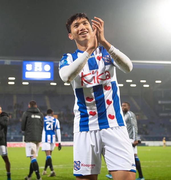 Văn Hậu chỉ có khoảng 4 phút thi đấu cho đội một Heerenveen tại Cup Quốc gia kể từ khi sang Hà Lan hồi tháng 9/2019. Ảnh: SCH.
