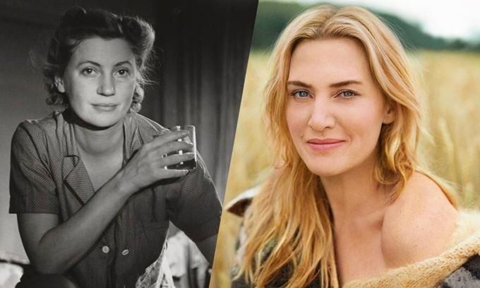 Kate Winslet (phải) sẽ tái hiện chân dung Lee Miller.