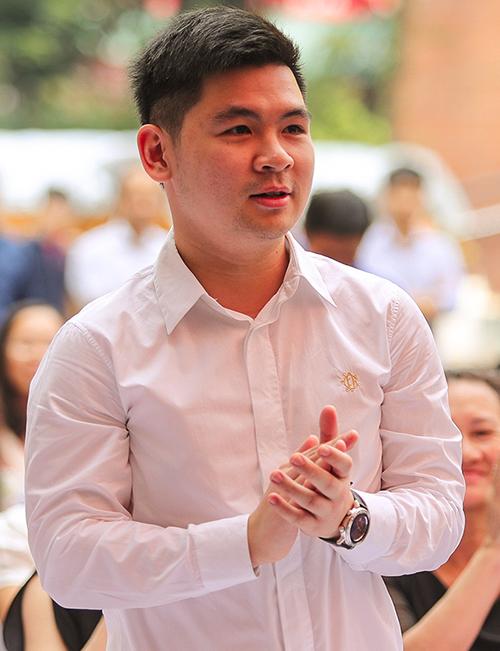 Chủ tịch CLB Hà Nội Đỗ Vinh Quang.