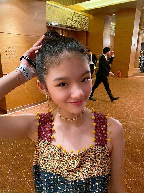 Nhờ vẻ ngoài xinh xắn, Bảo Tiên nhận được nhiều lời mời đóng quảng cáo nhưng Trương Ngọc Ánh từ chối vì không muốn con tham gia showbiz sớm, ảnh hưởng việc học tập ở trường.