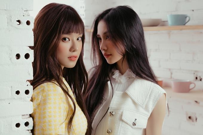 Thân thiết từ trong phim ra ngoài đời, Hoàng Yến Chibi và Jun Vũ được một cộng đồng fan đẩy thuyền (gán ghép thành đôi). Hoàng Yến không nhịn được cười khi đọc những bình luận này. Cô trân trọng tình cảm của khán giả dành cho cả hai.