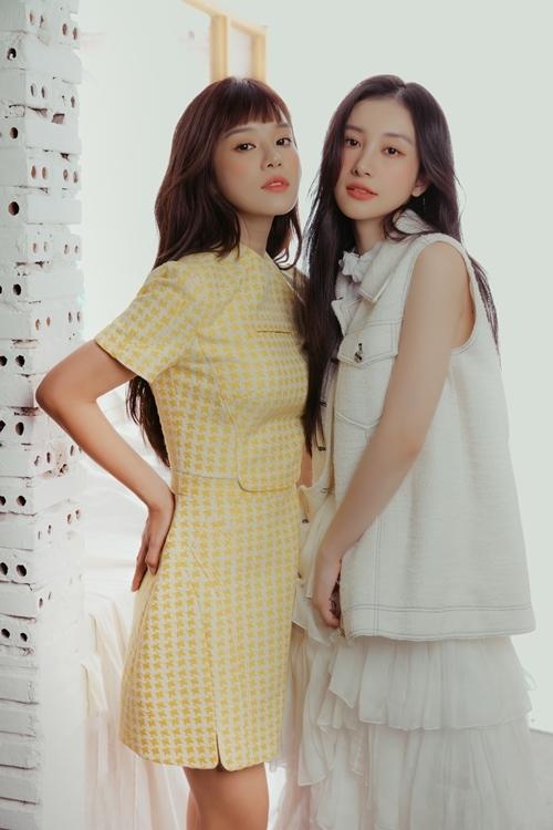 Hoàng Yến tiết lộ cô và Jun Vũ đều có chất điên giống nhau, khác với vẻ ngoài trong sáng họ hay thể hiện trên màn ảnh. Khi nhắc tới chủ đề chung, cả hai có thể tám chuyện không ngừng.