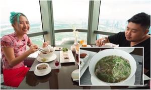 Quỳnh Anh Shyn ăn bát phở một triệu đồng