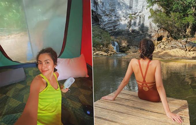Thay vì chọn các khu resort tiện nghi, Tăng Thanh Hà lại có chuyến trekking hang Tú Làn (Quảng Bình). Chuyến đi kéo dài 3 ngày với nhiều hoạt động yêu cầu thể lực như kéo dài:  14 km trekking đường bộ, 4 km thám hiểm trong hang động, bơi khoảng 1 km qua sông ngầm nhưng không liên tục, leo dốc cao khoảng 450 m, leo thang 10 m, băng nhiều sông suối...