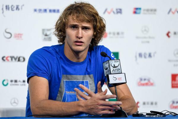 Tay vợt người Đức gốc Nga Zverez cho biết sẽ tự cách ly sau khi tham gia giải Adria Tour mà các đồng nghiệp bị Covid-19. Ảnh: TW.