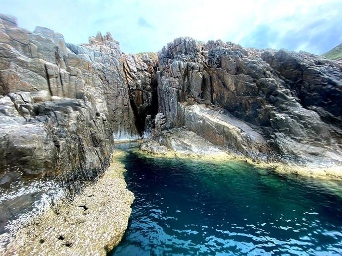 Bể bơi tự nhiên ở Côn Đảo ít người biết