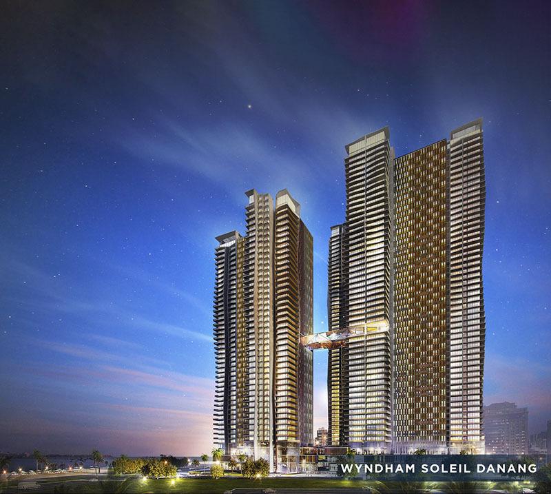 Toàn cảnh dự án Wyndham Soleil Danang.