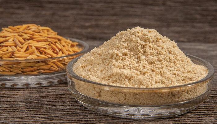 Bột cám gạo giàu chất chống oxy hóa, giúp ngăn ngừa các dấu hiệu lão hóa sớm.
