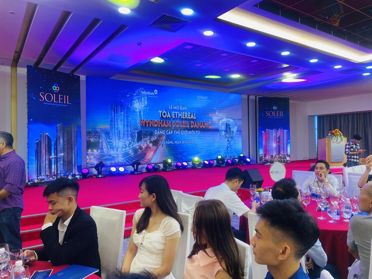Lễ mở bán chính thức tháp căn hộ Ethereal trong tổ hợp bất động sản Wyndham Soleil Danang.