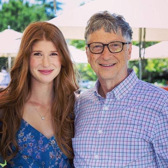 Bill Gates và con gái lớn Jennifer. Ảnh: CNBC.