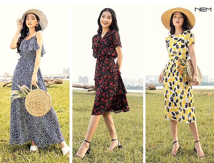 Thời trang NEM cho ra mắt loạt thiết kế maxi cao cấp mang đến nét dịu dàng, nữ tính cho người mặc.