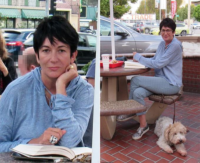 Ghislaine Maxwell ở Los Angeles, 10 ngày sau khi Jeffrey Epstein tự tử trong tù. Ảnh: Mega.