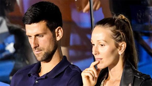 Vợ chồng Djokvic nhiễm Covid-19 nhưng hai con thì không. Ảnh: AFP.