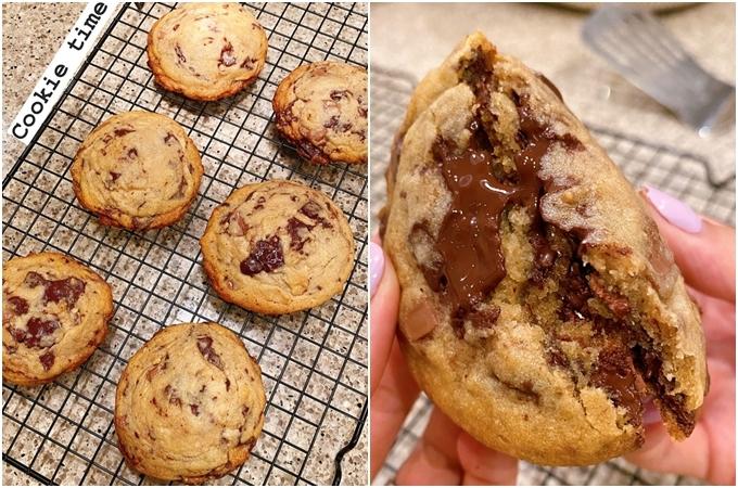 Mẻ bánh cookie hấp dẫn của Hà Tăng.