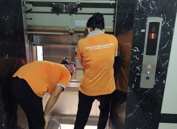Thang máy số 1, chung cư Athena Complex Xuân Phương gặp sự cố hôm 3/7.