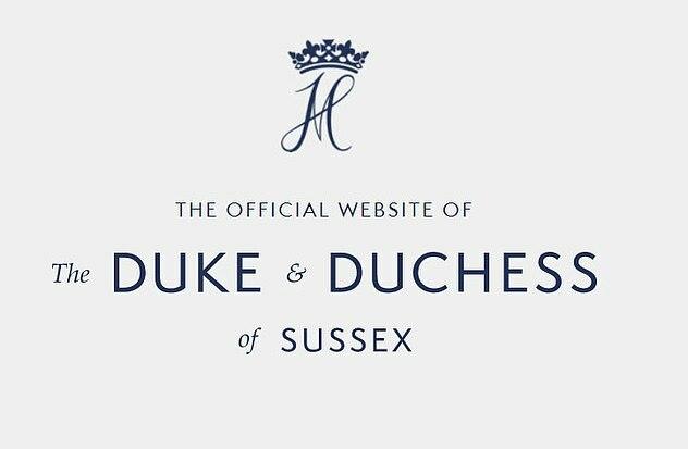 Website chính thức của Sussx Royal đã chính thức bị đóng. Ảnh: Mail.