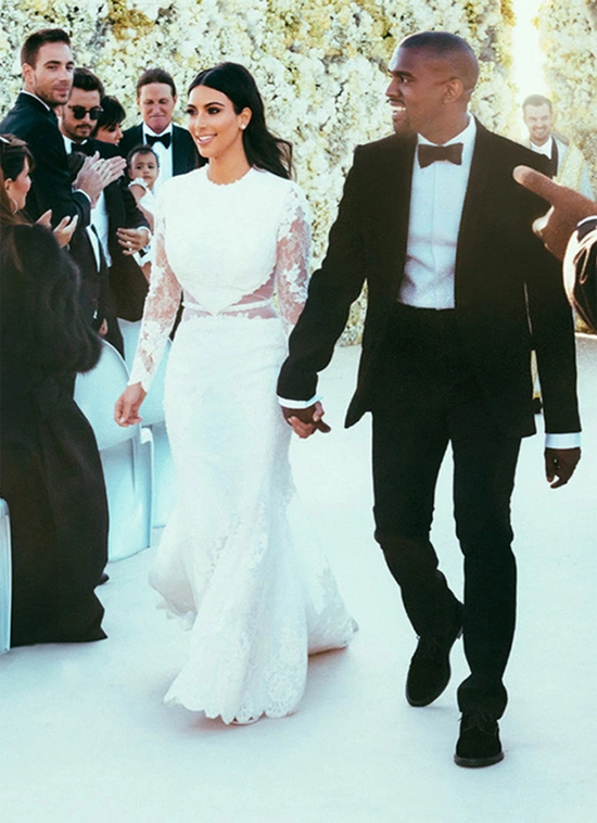 Đám cưới triệu đô của Kim và Kanye tại Italy.