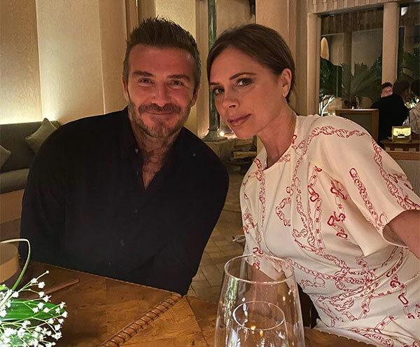 Cậu hai Romeo chia sẻ ảnh chụp một buổi hẹn hò của bố mẹ. Ảnh: Instagram.