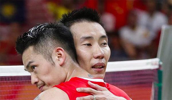 Lin Dan và Lee Chong Wei là hai tay vợt cầu lông nổi tiếng nhất suốt thập niên qua. Ảnh: SCMP.