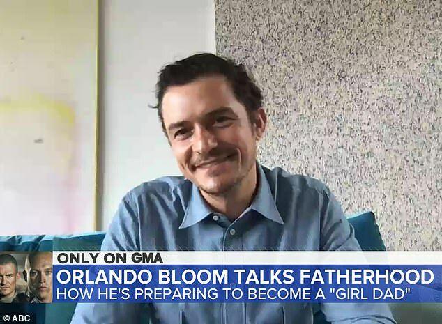 Orlando Bloom trong cuộc phỏng vấn hôm thứ 5.