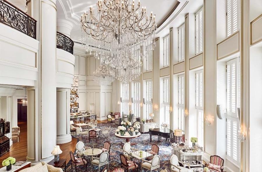 Không gian của đêm tiệc Luxury Party - Champagne Secret, món quà Khơ Thị dành tặng khách.