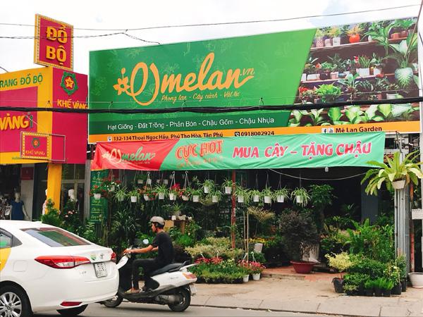 Cơ sở của thương hiệu Mê Lan nằm tại Tân Phú, TP HCM.