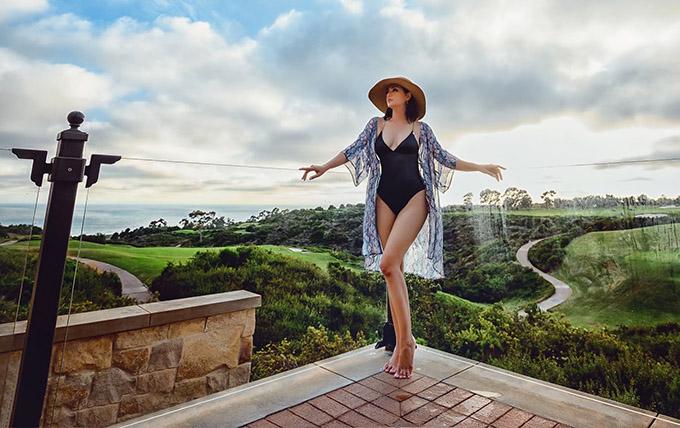 Cựu người mẫu rất thích thời tiết ôn hoà và phong cảnh mùa hè ở Nam California.