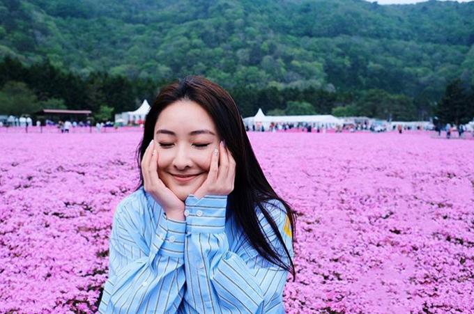 [Caption] Fuji Shiba-Sakura Festivalaway on holiday.please leave your message after the tone 5 2019