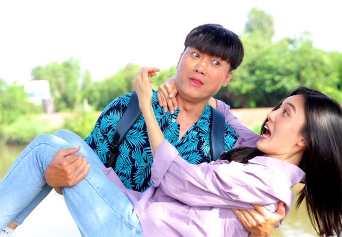 Diễn cặp cùng Quách Ngọc Tuyên là người đẹp Tăng Huỳnh Như - Á khôi Miss Ngôi Sao 2013.
