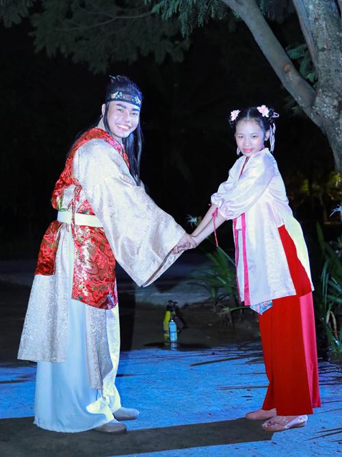 Bảo Hà tiết lộ Lê Dương Bảo Lâm là thần tượng của em. Các sản phẩm hài của nam diễn viên được mẫu nhí và gia đình mở xem hàng ngày.