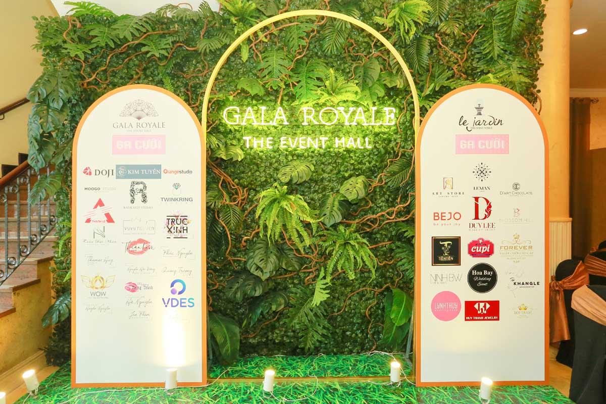 Sự kiện Gia cưới 2020 diễn ra lúc 8h30 đến 21h ngày 18/7 và 19/7 tại tòa nhà Sự kiện Gala Royale - số 63 Mạc Đĩnh Chi, quận 1, TP HCM.