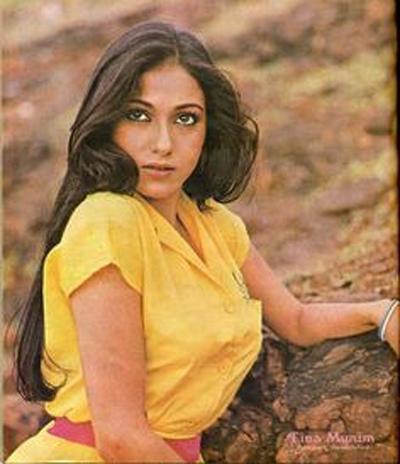 Nhan sắc bà Tita khi còn là một diễn viên. Ảnh: Bollywoodshaadis.