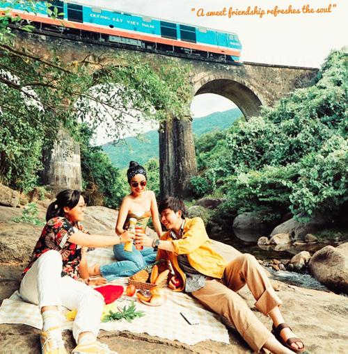 Cầu Vòm Đồn Cả - chốn thần tiên