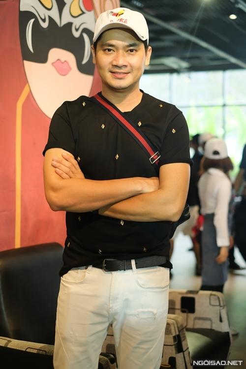 Diễn viên Đại Nghĩa - cộng sự của NSND Hồng Vân tại sân khấu kịch Hồng Vân Chợ Lớn.
