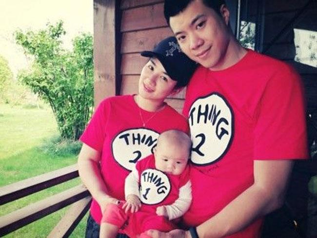 Huỳnh Dịch và chồng cũ, doanh nhân Hoàng Nghị Thanh.