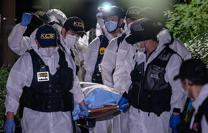 Thi thể của ông Park Won-Soon được phát hiện ở một ngọn đồi nhỏ tại  Seungbuk-dong, phía bắc Seoul. Ảnh: AFP.