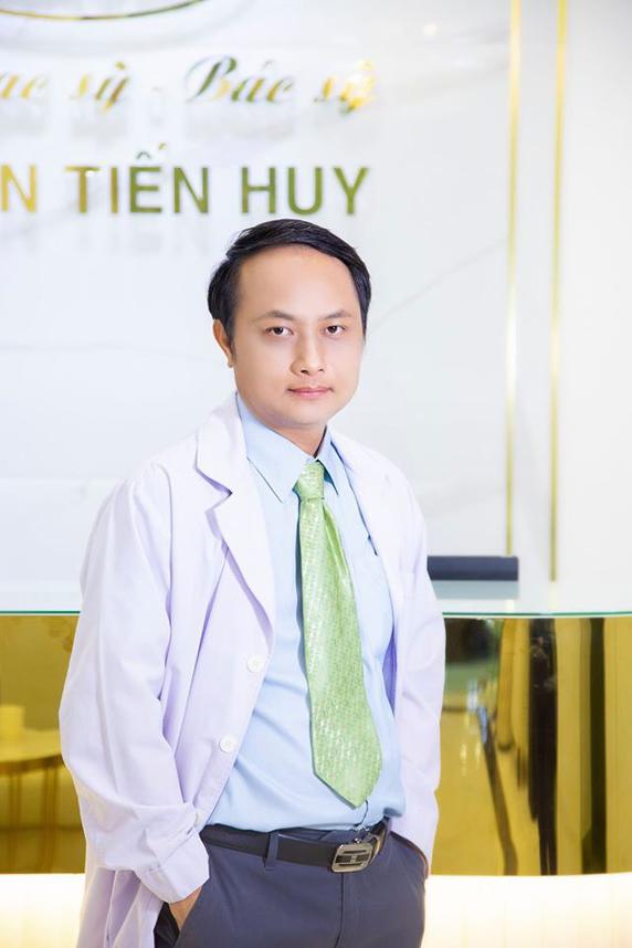 Bác sĩ Nguyễn Tiến Huy - Giám đốc thẩm mỹ viện Sài Gòn Venus.