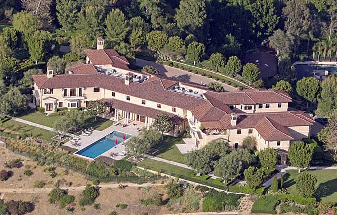 Biệt thự nơi nhà Meghan đang ở tại Los Angeles, bang California, Mỹ. Ảnh: Mega.