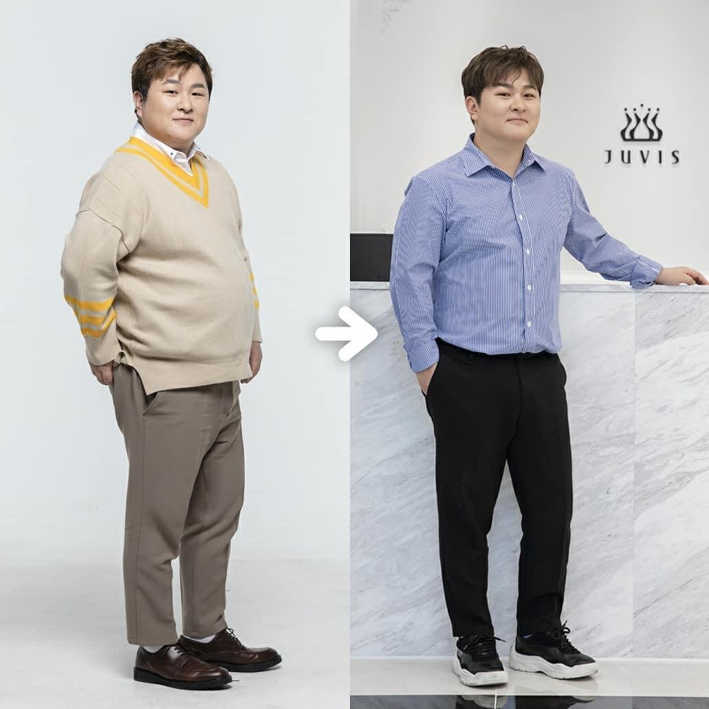 Tháng 3, Huk Gak khoe giảm được 10 kg và đặt mục tiêu giảm thêm 20 kg.