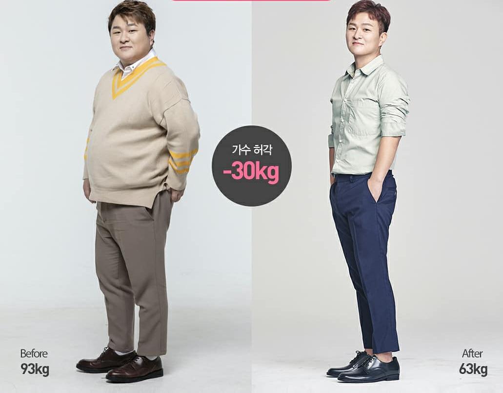 Huk Gak từng nhịn ăn để giảm cân nhưng không thành công.