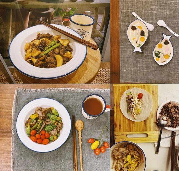 Để giữ cơ bắp, Jun Phạm áp dụng chế độ ăn giàu protein, chất xơ.