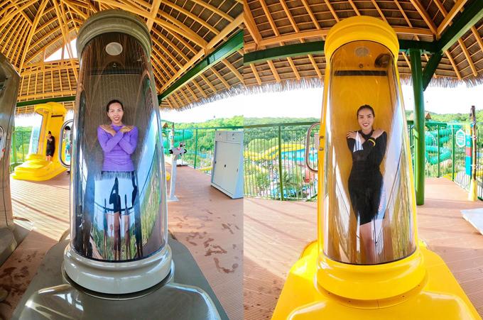 Kỳ Duyên chết đi sống lại ở công viên nước Phú Quốc - 14