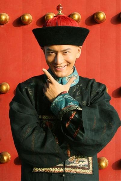Huỳnh Hiểu Minh đóng vai Vi Tiểu Bảo trong Lộc đỉnh ký bản truyền hình năm 2008.