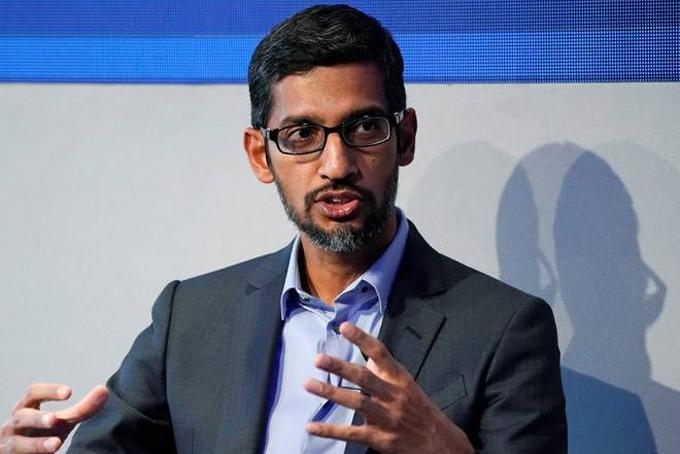 8. CEO Alphabet Sundar Pichai: 86,1 triệu USD