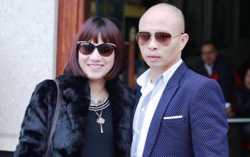 Vợ chồng Đường Dương lúc chưa bị bắt. Ảnh:Facebook nhân vật.