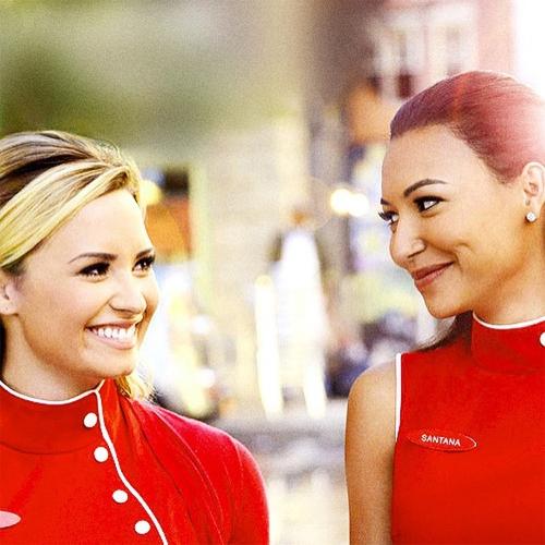 Demi Lovato quen Rivara từ khi đóng cùng trong Glee.