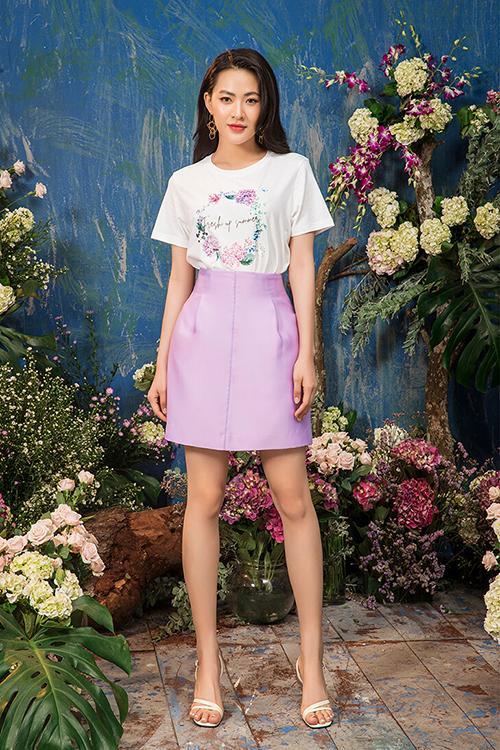Minh Trang sinh năm 1995, từng theo học trường Sân khấu - Điện ảnh. Trước khi đóng vai nữ chính trong Tình khúc Bạch Dương, cô đã là hot girl sở hữu lượng fan lớn trên Facebook.
